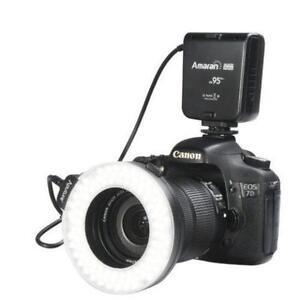 Aputure Halo HC100 Macro Ring Flash/Video Light LED Canon Nikon