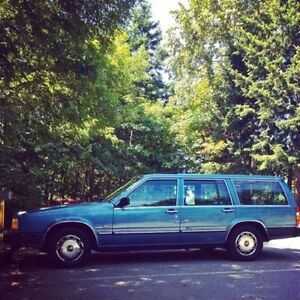 1986 volvo 740 wagon imported from BC - REDUCED PRICE