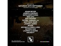 2x 'Welcome To The Warehouse' Warehouse Project Ticket
