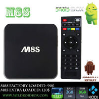 M8S Quad Core Boite Android TV Box 2Gb ram KODI XBMC S812 IPTV