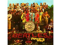 Beatles Sgt Peppers single and LP sleeves for sale