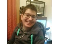 Second year Social Work student with Cerebral Palsy seeks PA to join great team.
