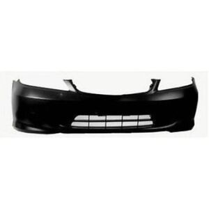 NEW PAINTED 2004-2005 HONDA CIVIC FRONT BUMPERS +FREE SHIPPING