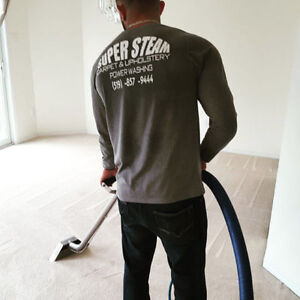 Professional licensed and insured steam cleaning FREE SHAMPOO London Ontario image 2