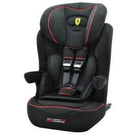 brand new Ferrari-Booster-Isofix-Child-Baby-Car-Seat-15-36-kg-ECE-Group-1-2-3-9mts--11yrs