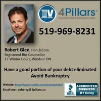 Pay Back only a Small Portion of Your Debt and Avoid Bankruptcy