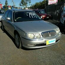 2003 Rover 75 MY03 Club Silver 5 Speed Automatic Sedan Underwood Logan Area Preview