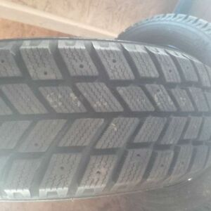 Set of 4 Brand NEW Winter Tires on Rims (Sold the Car)