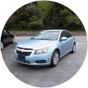 2011 CHEVROLET CRUZE LT...LOADED! FACTORY REMOTE STARTER & MORE!