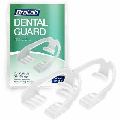 ORALAB ANTI TEETH-GRINDING DENTAL GUARD-2 Pack Health & Beauty