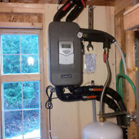 Plumber - for the installation of thermal solar pool heater