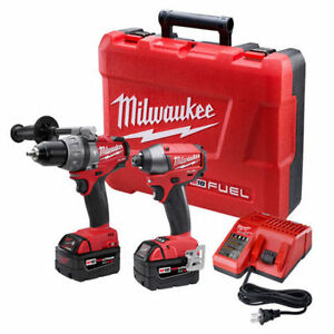 MILWAUKEE 2797-22 COMBO KIT 2PC 18V LITHIUM-ION NEUF/NEW!