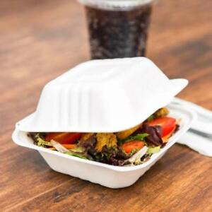 Biodegradable, Compostable Take-Out Container - 500 / Case 5