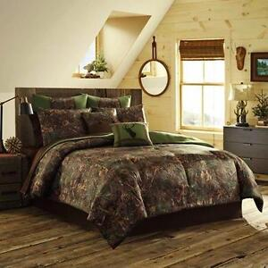 TrueTimber 4 Piece Double Mixed Pine Collection Comforter Set- Brand New