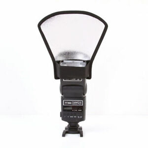 Canon Nikon Sony FlashDiffuser Softbox Silver White Reflector XL