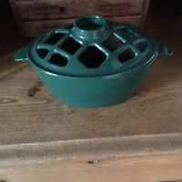 L.L. Bean Lattice Stovetop Steamer - Green