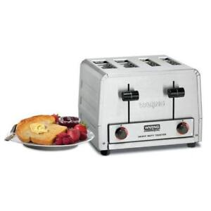 Waring WCT815 HeavyDuty Combination Toaster and Bagel 4 *RESTAURANT EQUIPMENT PARTS SMALLWARES HOODS AND MORE*