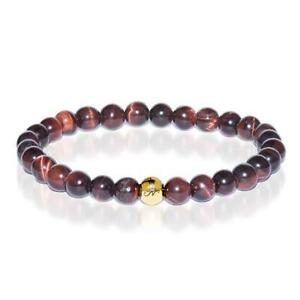 50% OFF All Jewellery - Noble | Gold Essence Red Tiger's Eye Bracelet