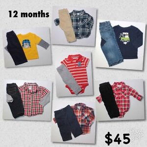 12 months Boy outfits