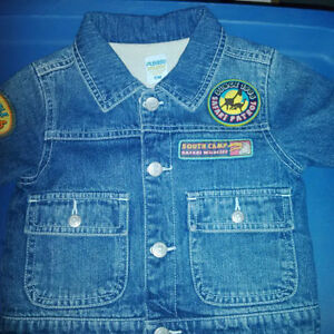 12 Month Lined Jean Jacket