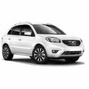 2011 Renault Koleos H45 MY10 Dynamique White 1 Speed Constant Variable Wagon Moorabbin Kingston Area Preview