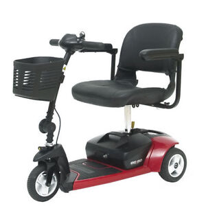 PRIDE GO GO 3-WHEEL MOBILITY SCOOTER