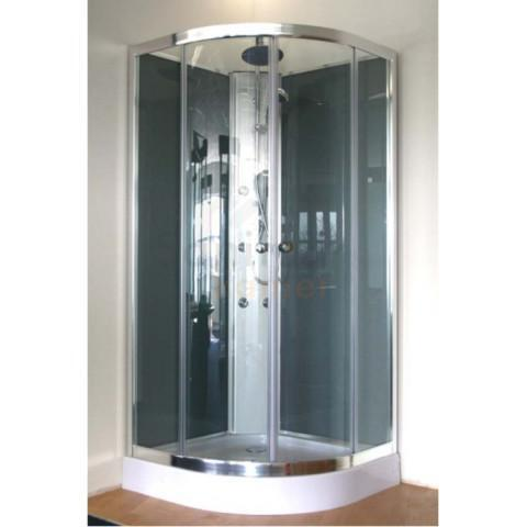 Complete Douchecabine Aanbieding.Nieuwe Saniscape New York Complete Douche Cabine 90x90 Sale