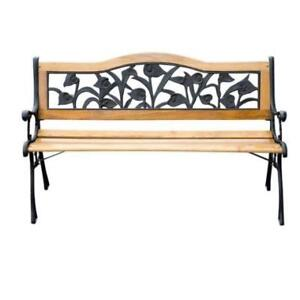 "50"" Garden Bench / Patio Garden furniture / Outdoor Bench"