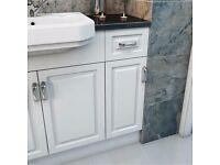 Victoria Plum Florence white Small Storage unit 250mm.........Brand New