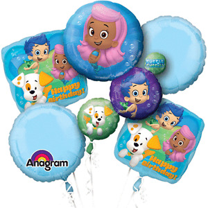 Bubble Guppie Balloon Bouquets/Balloons SALE BEST PRICES!!