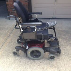 QM 710 ELECTRIC WHEELCHAIR with POWER RECLINE and POWER TILT
