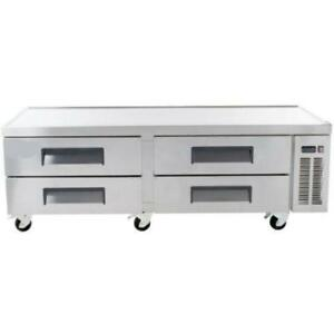 4 Drawer Refrigerated Chef Base 72 *RESTAURANT EQUIPMENT PARTS SMALLWARES HOODS AND MORE*