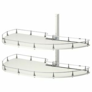 IKEA Rationell pull-out shelves