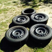 REDUCED!!! Free rims! Six Winer Tires Nearly New  Nitto SN2