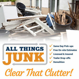 Junk Removal -- All Things Junk -- We Do All The Work!! Windsor Region Ontario image 4