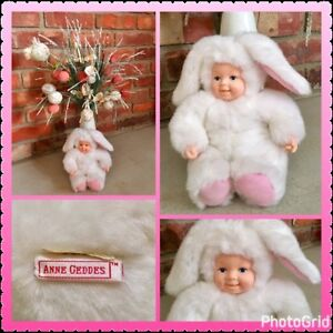 Anne Geddes White Baby Bunny ~ Think EASTER
