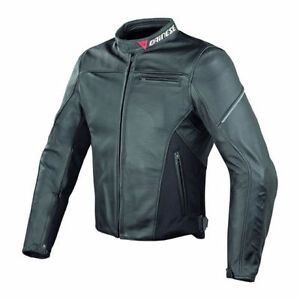 Mint Dainese Cage Lady Leather Motorcycle Jacket EU44  used once