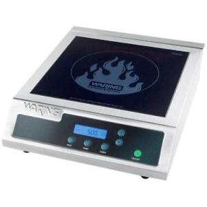 Waring WIH400 Commercial Induction Range - 120V, 1800W