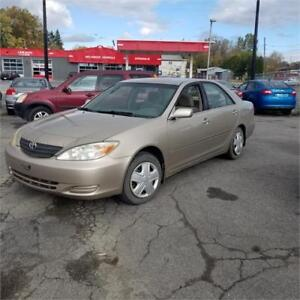 TRS BELLE TOYOTA CAMRY 2003 AUTOMATIC 4CYL A/C GRPE ELCT