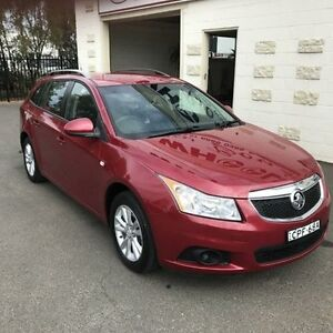 2013 Holden Cruze JH MY13 CD Red 6 Speed Automatic Sportswagon Dubbo Dubbo Area Preview