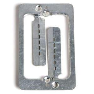 DIGIWAV Single-Gang Metal Mud-Ring Drywall Bracket