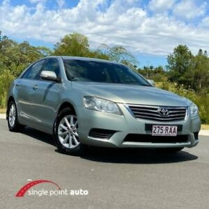 2010 Toyota Aurion GSV40R MY10 AT-X Silver 6 Speed Sports Automatic Sedan Chevallum Maroochydore Area Preview