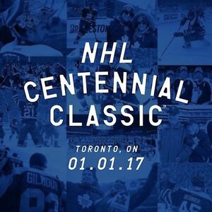 MAPLE LEAFS VS RED WINGS CENTENNIAL CLASSIC TICKETS