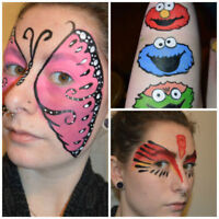 Quality + Affordable FACE PAINTING! Booking Now for Summer