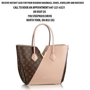 INSTANT CASH FOR YOUR HAND BAGS!