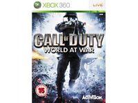 COD World at War Xbox