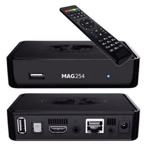 MAG254 IPTV Box - Thousands of live TV Channels