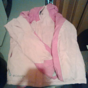 Pink Columbia Winter Coat 18/20 YOUTH
