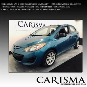 '11 Mazda2 GS~A/C & Popular Options~ 12,000km Warranty Included