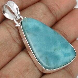 Large NATURAL BLUE LARIMAR GEMSTONE to aid with healing energy